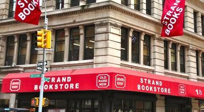 Photo of Bookstore Strand Bookstore at 828 Broadway, New York, NY 10003, United States