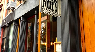 Photo of American Restaurant Back Forty at 190 Avenue B, New York, NY 10009, United States