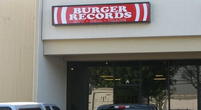 Photo of Record Shop Burger Records at 645 S State College Blvd, Fullerton, CA 92831, United States