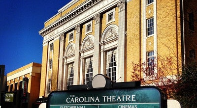 Photo of Indie Movie Theater Carolina Theatre Of Durham at 309 W Morgan St, Durham, NC 27701, United States