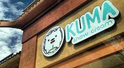 Photo of Dessert Shop Kuma Snow Cream at 3735 Spring Mountain Rd, Las Vegas, NV 89102, United States