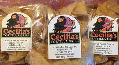 Photo of Mexican Restaurant Cecilia's Tortilla Grill at 25250 La Paz Rd, Laguna Hills, CA 92653, United States