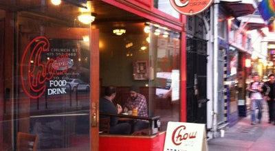 Photo of American Restaurant Chow at 215 Church St, San Francisco, CA 94114, United States