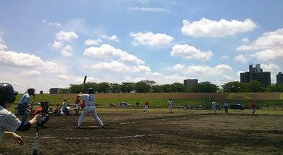 Photo of Baseball Field 新荒川大橋野球場 at 赤羽3-29先, 北区, Japan