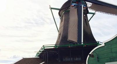 Photo of Monument / Landmark Houtzaagmolen Het Jonge Schaap at Kalverringdijk 31a, Zaandam 1509 BT, Netherlands