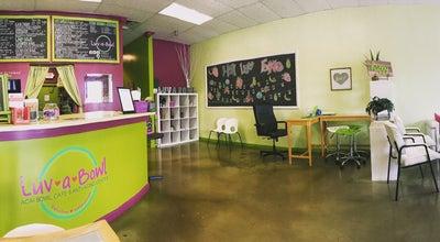 Photo of Ice Cream Shop Luv-A-Bowl at 9700 Medlock Bridge Rd, Alpharetta, GA 30022, United States