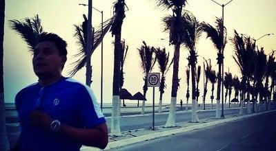 Photo of Beach Malecon Costero at Mexico