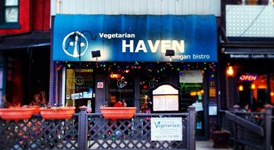 Photo of Vegetarian / Vegan Restaurant Vegetarian Haven at 17 Baldwin St, Toronto, ON M5T 1L1, Canada
