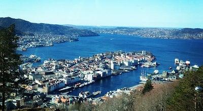 Photo of Scenic Lookout Fløien at Fløyfjellet, Bergen 5014, Norway