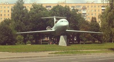 Photo of Monument / Landmark Самолет на Фрунзе at Ул. Фрунзе, Смоленск, Russia