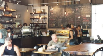 Photo of Restaurant Pilot Coffee Roasters at 983 Queen St E, Toronto M4M 1K2, Canada