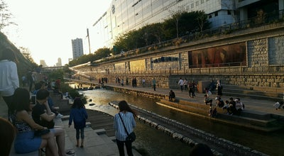 Photo of Well Cheonggyecheon canal | 청계천 at Seoul, South Korea