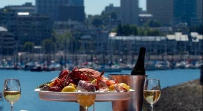Photo of French Restaurant Provence Marinaside Seafood Restaurant Bar & Grill at 1177 Marinaside Crescent, Vancouver, BC V6Z 2Y3, Canada
