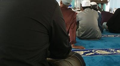 Photo of Mosque Masjid Jamek Kedua Muar at Muar town, Malaysia
