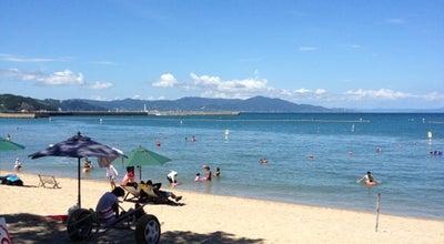 Photo of Beach 大浜海水浴場 at 海岸通1-871-1, 洲本市, Japan