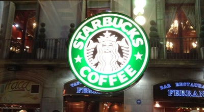 Photo of Coffee Shop Starbucks at C. Ferran, 25, Barcelona 08002, Spain