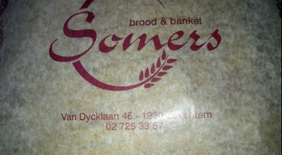 Photo of Bakery Bakkerij Somers at Van Dijcklaan, Zaventem 1930, Belgium