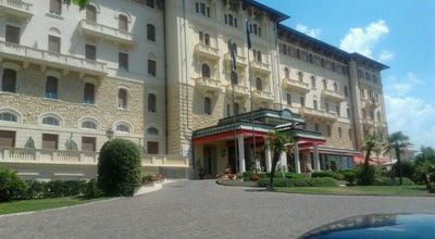 Photo of Hotel Grand Hotel Palazzo della Fonte at Via Dei Villini 7, Fiuggi 03014, Italy