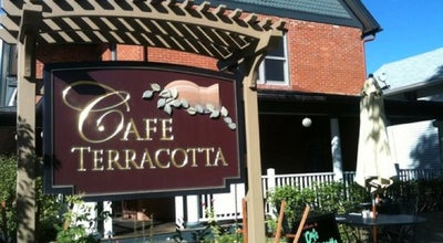 Photo of New American Restaurant Cafe Terracotta at 5649 S Curtice St, Littleton, CO 80120, United States