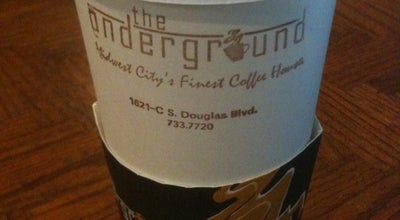 Photo of Coffee Shop The Underground at 1621 S Douglas Blvd, Oklahoma City, OK 73130, United States