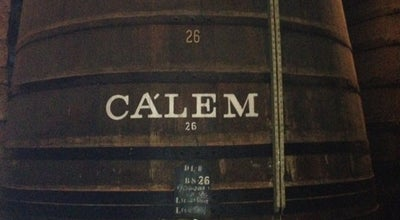Photo of Wine Bar Caves Cálem at Avenida Diogo Leite 344, Vila Nova de Gaia 4400-111, Portugal