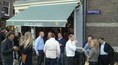 Photo of Bar Café van Leeuwen at Keizersgracht 711, Amsterdam 1017 DX, Netherlands