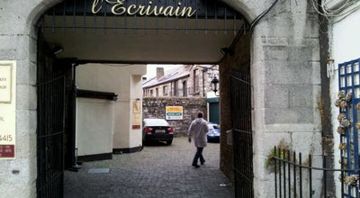 Photo of French Restaurant L'Ecrivain at 109 Lower Baggot St, Dublin 2, Ireland