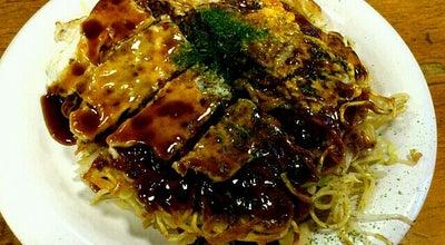 Photo of Food お好み焼 みっちゃん 総本店 at 中区八丁堀6-7, 広島市 730-0013, Japan