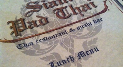 Photo of Sushi Restaurant Siam Pad Thai at 3027 Wilmington Pike, Dayton, OH 45429, United States