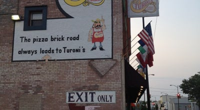 Photo of Pizza Place Turoni's Pizzery & Brewery at 408 N Main St, Evansville, IN 47711, United States