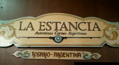 Photo of BBQ Joint La Estancia at Pellegrini 1501, Rosario 2000, Argentina