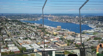 Photo of Scenic Lookout Space Needle: Observation Deck at 400 Broad St, Seattle, WA 98109, United States