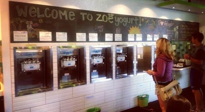 Photo of Frozen Yogurt Zoëyogurt at 6900 E Green Lake Way N, Seattle, WA 98115, United States
