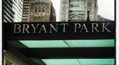 Photo of Hotel Bryant Park Hotel at 40 W 40th St, New York, NY 10018, United States