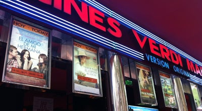 Photo of Indie Movie Theater Cines Verdi at C/ De Bravo Murillo 28, Madrid 28015, Spain