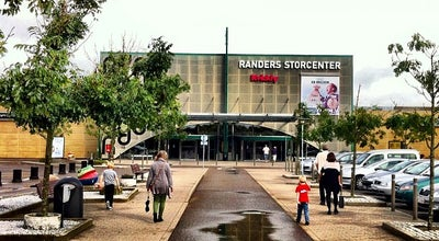 Photo of Mall Randers Storcenter at Merkurvej 55, Randers SØ 8960, Denmark