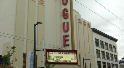 Photo of Theater Vogue Theatre at 918 Granville St, Vancouver, Br V6B 2C9, Canada
