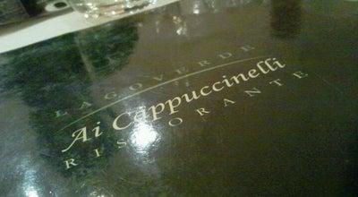Photo of Italian Restaurant Lagoverde Ai Cappuccinelli at Via Campo Del Patollo, 21, Perugia 06125, Italy