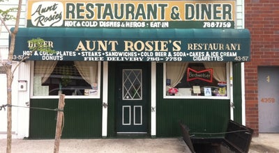 Photo of American Restaurant Aunt Rosie's Restaurant at 43-57 11th St, Long Island City, NY 11101, United States
