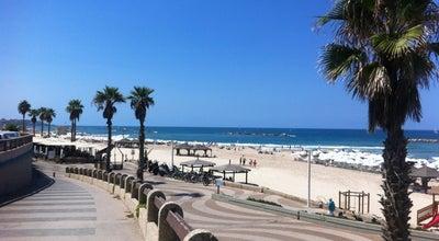 Photo of Beach Bograshov Beach (חוף בוגרשוב) at Bograshov St, Tel Aviv, Israel
