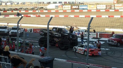 Photo of Racetrack The Bullring @ Las Vegas Motor Speedway at Las Vegas, NV 89115, United States
