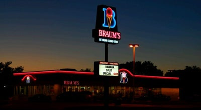 Photo of Ice Cream Shop Braum's Ice Cream & Dairy Store at 1706 W. Randol Mill Rd., Arlington, TX 76012, United States