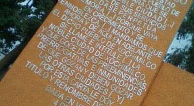 Photo of Historic Site Rotonda De Los Personajes Ilustres De Xochimilco at Guadalupe I. Ramírez, Ciudad de México, Mexico