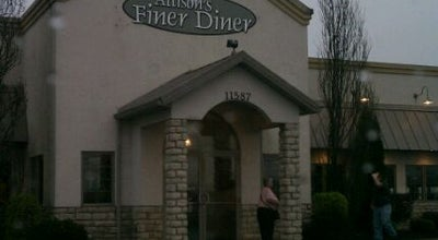 Photo of American Restaurant Allisons Finer Diner at 11587, Mount Vernon, OH 43050, United States