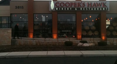 Photo of American Restaurant Cooper's Hawk Winery & Restaurant at 3815 E 96th St, Indianapolis, IN 46240, United States