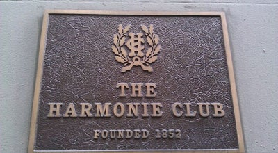 Photo of Event Space Harmonie Club at 4 E 60th St, New York, NY 10022, United States