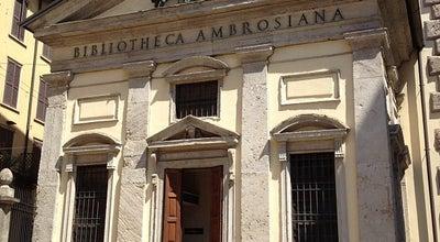 Photo of Art Museum Biblioteca Ambrosiana at Piazza Pio Xi, 2, Milano 20123, Italy