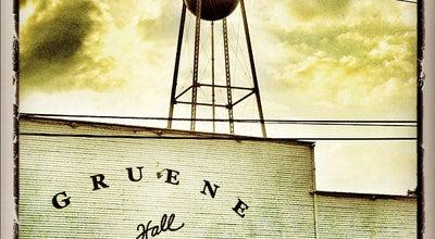 Photo of Beer Garden Gruene Hall at 1281 Gruene Rd, New Braunfels, TX 78130, United States
