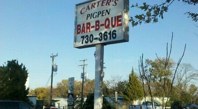 Photo of BBQ Joint Carter's Pig Pen BBQ at 8011 Cold Harbor Rd, Mechanicsville, VA 23111, United States