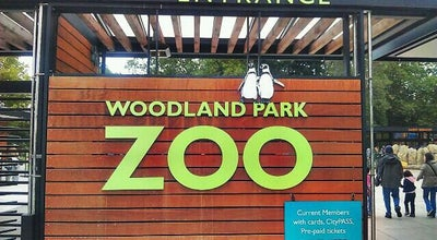 Photo of Zoo Woodland Park Zoo - West Gate at 5494-5496 Phinney Ave N, Seattle, WA 98103, United States